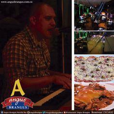 Todas las noches de viernes y sábado, disfrútalas con nuestra banda musical Exclusive Sound. Ellos, animarán tus noches con el mejor repertorio de canciones y sonidos.  www.angusbrangus.com.co   #nochesmedellín #AngusBrangus #musicaenvivo #restaurantesmedellín #parrilla #restaurantesvíapalmas