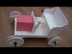 Marqueteria - coche del 1900 - YouTube