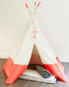 a tipi for the boys room at bonpoint