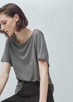 Basic t-shirt | MANGO