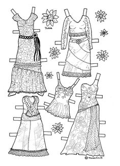 Karen`s Paper Dolls: teen-girl                                                                                                                                                                                 More