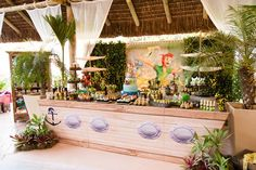 Renata N's Birthday / neverland - Photo Gallery at Catch My Party Pirate Birthday, Pirate Party, It's Your Birthday, Birthday Party Themes, 4th Birthday, Birthday Ideas, Terra Do Nunca, Peter Pan Neverland, Peter Pan Party