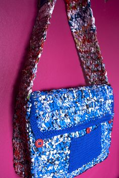 the first BeWool recycling bag