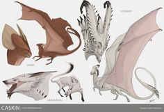 Caskin Studies by beastofoblivion on deviantART alien monster creatures