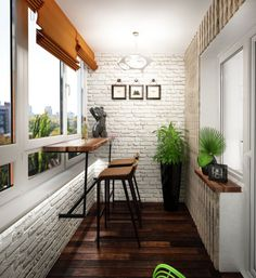 А может, оформить балкон в стиле лофт? - Ярмарка Мастеров - ручная работа, handmade