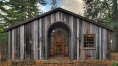 This is the reclaimed woodcabin by Moroso Construction. Just imagine sumbling into this beauty when You got lost in the woods.This truly is a piece of history brought back to life.