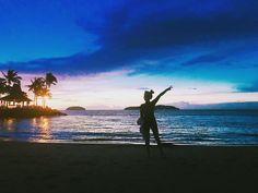 Instagram의 @xxsso2xx님: #세계3대석양  #바다 #여행  #전신스타그램 #셀카 #뒷태 #코타키나발루 #샹그리아탄중아루 #스타일 #like4like #l4l #인스타그램 #팔로워 #맞팔 #선팔 #좋아요 #데일리 #