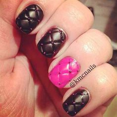 Quilted by Kmcnails - Nail Art Gallery #nailart