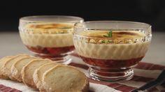 Φράουλες με σαμπαγιόν και μπισκότα βουτύρου Cheesecake, Muffin, Cooking, Breakfast, Desserts, Food, Kitchen, Morning Coffee, Tailgate Desserts
