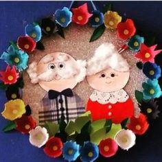 grandparents day crafts for preschoolers Free idea Grandparents Day Preschool, Grandparents Day Cards, Kids Crafts, Footprint Crafts, Grands Parents, Father's Day Diy, Fathers Day Crafts, Art N Craft, Craft Activities