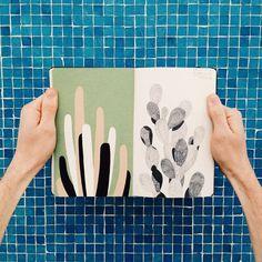 David Doran's Charming Sketchbooks + Illustrations | Eye on Design