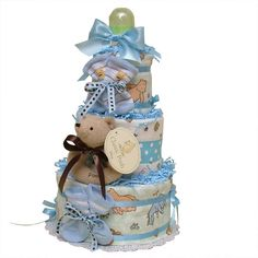 Click on diaper cake to zoom-in