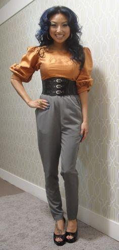 Jeannie Mai - love her! Fashion Tv, Black Girl Fashion, Fashion Gallery, Fashion 2020, Look Fashion, Urban Fashion, Fasion, Work Attire, Work Outfits