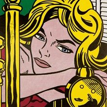 Roy Lichtenstein, Offset Lithograph, 'Blonde Waiting', c. 1964.   Lichtenstein's images are perfect for any generation...the comic and the absurd.