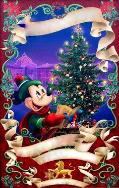 Christmas- Disney - Mickey Mouse