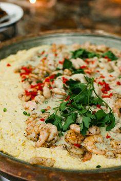 shrimp + grits