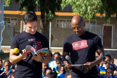 Danny K and Kabelo read to the learners Library Week, Young Black, Primary School, Black Men, Singer, Memories, Reading, Elementary Schools, Word Reading