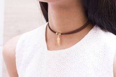 CHOKER HOJITA - Comprar en accesorios Ave Maria Chokers, Jewelry, Fashion, Choker Necklaces, Hail Mary, Leaves, Accessories, Moda, Jewlery