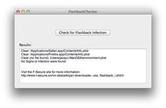 """The downloadable app runs the same three Terminal commands that we outlined in our how-to last week—it either says """"No signs of infection were found"""" or spits back further information if necessary. There is also a link to F-Secure's instructions for removal, but if you have less-technical family members whose Macs are infected, you'll likely need to step in and help before they have to start mucking with the Terminal."""