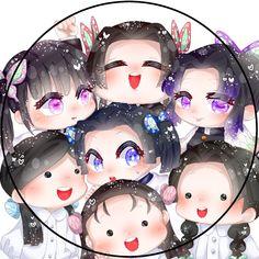 Cute Anime Chibi, Kawaii Chibi, Anime Love, Kawaii Anime, Otaku Anime, Manga Anime, Anime Art, Demon Slayer, Slayer Anime