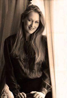 Lovely photo of Meryl Streep