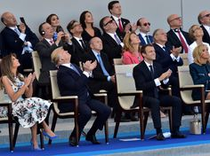 Tanks, troops, and Donald Trump — see photos from this year's Bastille Day in France - On Friday, France celebrated Bastille Day with fireworks, a parade, and Donald Trump.  As part of their 24-hour trip to visit French president Emmanuel Macron in Paris, Donald and Melania Trump attended the city's annual military parade — an ornamental affair complete with music, military displays, and air shows.  Here are some of the most interesting photos from this year's Bastille Day celebrations.  SEE…