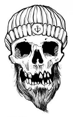 Pennywise Poster, Pirate Symbols, Pirate Illustration, Pirate Skeleton, Skeleton Drawings, Skull Hand, Animal Totems, Skull And Bones, Pirates