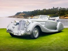 1937 Horch 853 Voll & Ruhrbeck Sport Cabriolet.