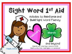 """By this time of year, we have assessed students and determined who would benefit from intense intervention with sight words.  I created this """"kit"""" to give students additional practice spelling and then reading sight words in context.   Prep:  Print the sight word cards, laminate and cut apart."""