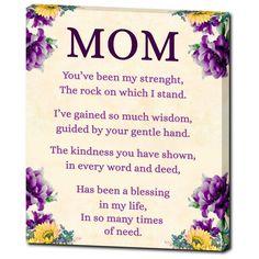 Definition of Mom Wall Art Happy Birthday Mom Cards, Happy Birthday Mom From Daughter, Birthday Greetings For Mother, Birthday Poems, Happy Mother S Day, Mom Birthday Gift, Happy Mothers, Mom Poems, Mother Poems