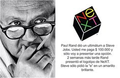 #‎Logotipos‬ famosos y sus creadores Steve Jobs, Of Brand, Insight, Triangle, Branding, Logos, Famous Logos, Quotes Motivation, Design Web