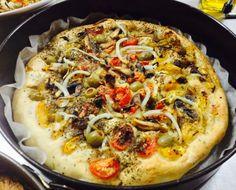 Focaccia con le verdure by italiaENcasa