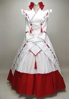 Darker Fashions: Wa-Lolita: 'Wa-Loli Special Order A' Dress by AYA at Dream Shoppe