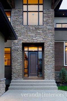 West Coast Contemporary Exterior - modern - exterior - calgary - Veranda Estate Homes & Interiors