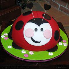 Ladybird cake!