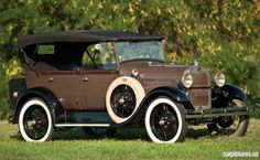 1929 Ford Model A Phaeton Ford Lincoln Mercury, Classic Motors, Classic Cars, Floating Car, Vintage Cars, Antique Cars, Old American Cars, Classic Car Restoration, Car Ford
