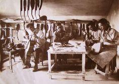 luthier workshop in Kazanlak (c1918)