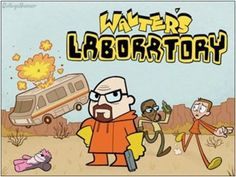 Awesome Breaking Bad mash-ups! - Awesome Breaking Bad mash-ups! Bad Fan Art, Breaking Bad 3, Dexter Laboratory, Medical Laboratory, Mejores Series Tv, Bad Image, Geek Games, Cartoon Crossovers, College Humor