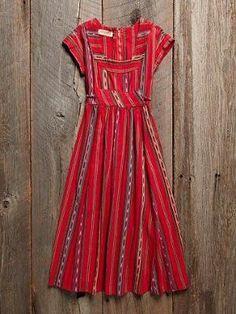 Vintage 1960s stripped dress by mavis