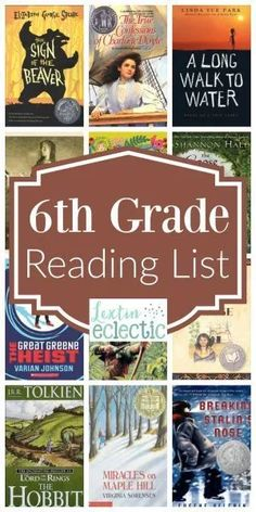 Do you scour Pinterest for book list pins? I do! I have an entire Pinterest board dedicated to book lists. I LOVE book lists. I've created quite a few book lists over the past few years – from books… Sixth Grade Reading, 6th Grade Ela, Ninth Grade, Seventh Grade, Teaching 6th Grade, Middle School Boys, Middle School Reading, High School, Middle School Book List