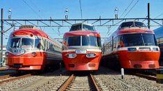 ロマンスカー・SE 就役60周年記念イベント 「特急ロマンスカー夢リレー」でオリジナルグッズをプレゼント | 鉄道チャンネルニュース | 鉄道チャンネル China Train, Japan Train, High Speed Rail, Rail Car, Train Station, Public Transport, Transportation, Vehicles, Japanese