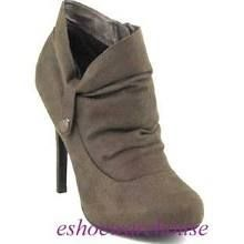 hidden platform slouch ankle bootie drk taupe