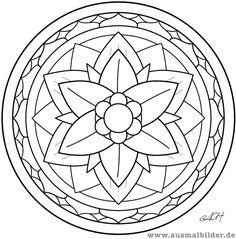 Mandalas ausmalbilder f r kinder geburtstagsgeschenke for Mosaik vorlagen zum ausdrucken