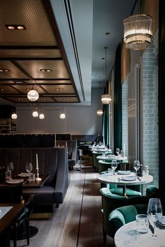 Tortue Hotel in Hamburg, Germany, proves that a former ministry building can be successfully converted into modern and chic hotel. Only a strict facade and wide corridors with offices remind about the official past of this house. The rest is a modern space created to receive guests and living in the rhythm of a big...