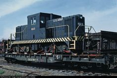 RailPictures.Net Photo: USAX 1623 United States Army Davenport 80-Ton at North Little Rock, Arkansas by Douglas G. Walker
