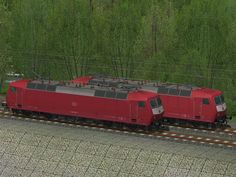 2 E-Loks BR120 der DBAG