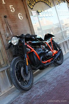 Cafe Matty's BMW R65