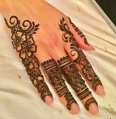 Explore the list of best and trending mehndi designs for every occasion. Latest mehndi designs for your wedding or any other events Pretty Henna Designs, Modern Henna Designs, Latest Henna Designs, Full Hand Mehndi Designs, Mehndi Designs For Beginners, Mehndi Design Photos, Henna Designs Easy, Mehndi Designs For Fingers, Mehndi Designs For Hands