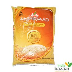 Aashirvaad Whole Meal Atta has been grinded and processed whole wheat flour that contains 0% maida (Plain Flour) in it. A great Indian kitchen ingredient, it is used to make delicious rotis, puris and parathas. Prepared under great hygienic conditions, it is a perfect balance of great sweet flavour and health benefit in abundance.