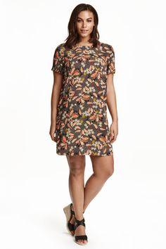 H&M+ Patterned dress